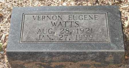 WATTS, VERNON EUGENE - Saline County, Arkansas | VERNON EUGENE WATTS - Arkansas Gravestone Photos