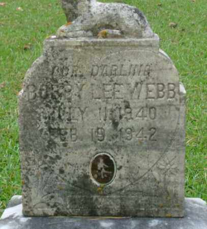 WEBB, BOBBY - Saline County, Arkansas | BOBBY WEBB - Arkansas Gravestone Photos