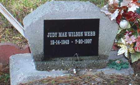 WEBB, JUDY MAE - Saline County, Arkansas | JUDY MAE WEBB - Arkansas Gravestone Photos