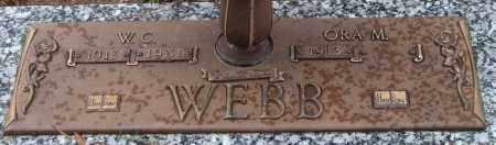 WEBB, W. C. - Saline County, Arkansas | W. C. WEBB - Arkansas Gravestone Photos