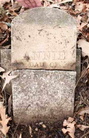 WELCH, ANNIE - Saline County, Arkansas | ANNIE WELCH - Arkansas Gravestone Photos