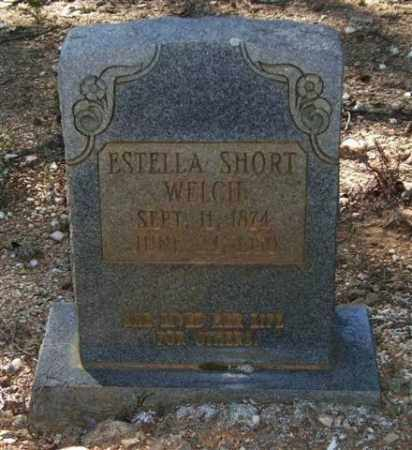 SHORT WELCH, ESTELLA - Saline County, Arkansas | ESTELLA SHORT WELCH - Arkansas Gravestone Photos