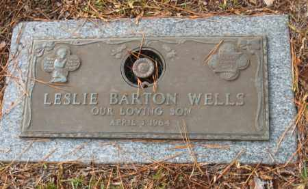 WELLS, LESLIE BARTON - Saline County, Arkansas | LESLIE BARTON WELLS - Arkansas Gravestone Photos