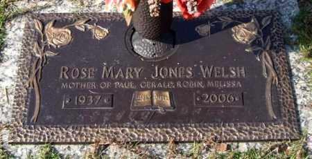 JONES WELSH, ROSE MARY - Saline County, Arkansas | ROSE MARY JONES WELSH - Arkansas Gravestone Photos