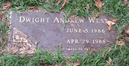WEST, DWIGHT ANDREW - Saline County, Arkansas | DWIGHT ANDREW WEST - Arkansas Gravestone Photos