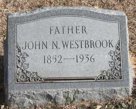 WESTBROOK, JOHN N. - Saline County, Arkansas | JOHN N. WESTBROOK - Arkansas Gravestone Photos