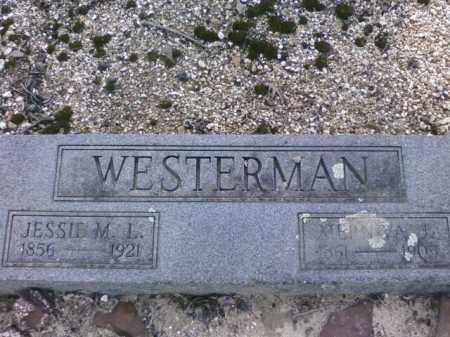 WESTERMAN, JESSIE M.L. - Saline County, Arkansas | JESSIE M.L. WESTERMAN - Arkansas Gravestone Photos