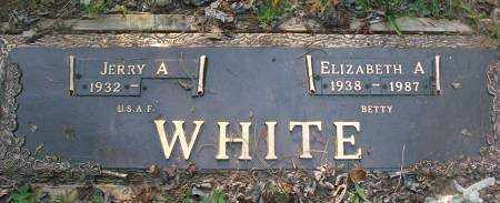 WHITE, ELIZABETH A - Saline County, Arkansas | ELIZABETH A WHITE - Arkansas Gravestone Photos