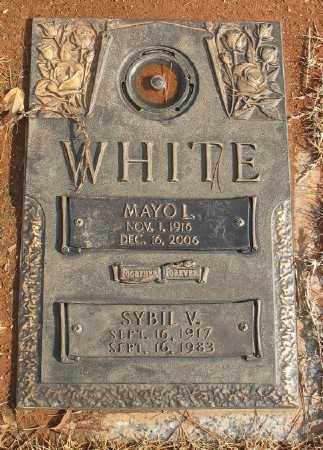 WHITE, SYBIL V. - Saline County, Arkansas | SYBIL V. WHITE - Arkansas Gravestone Photos