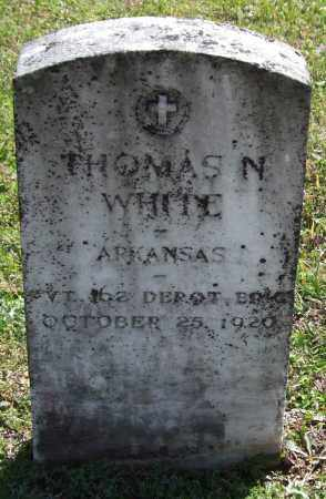 WHITE  (VETERAN), THOMAS N. - Saline County, Arkansas | THOMAS N. WHITE  (VETERAN) - Arkansas Gravestone Photos