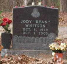 WHITSON, JODY RYAN - Saline County, Arkansas | JODY RYAN WHITSON - Arkansas Gravestone Photos