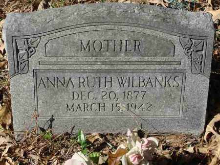 GATLIN WILBANKS, ANNA RUTH - Saline County, Arkansas | ANNA RUTH GATLIN WILBANKS - Arkansas Gravestone Photos