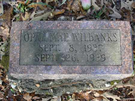WILBANKS, OPAL MAE - Saline County, Arkansas | OPAL MAE WILBANKS - Arkansas Gravestone Photos