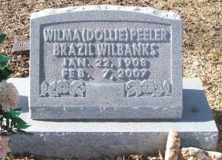 "PEELER WILBANKS, WILMA DELORES ""DOLLIE"" - Saline County, Arkansas 