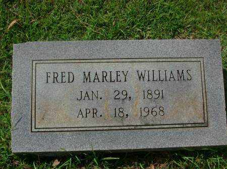 WILLIAMS, FRED MARLEY - Saline County, Arkansas | FRED MARLEY WILLIAMS - Arkansas Gravestone Photos