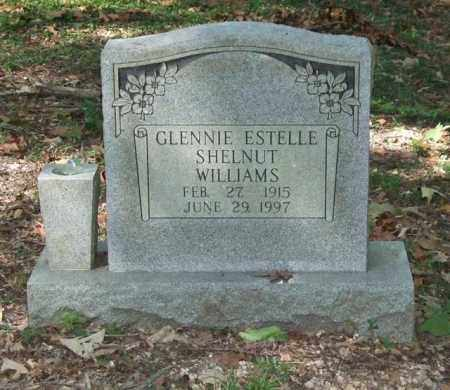 SHELNUT WILLIAMS, GLENNIE ESTELLE - Saline County, Arkansas | GLENNIE ESTELLE SHELNUT WILLIAMS - Arkansas Gravestone Photos