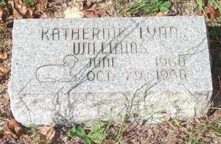 WILLIAMS, KATHERINE LYNN - Saline County, Arkansas | KATHERINE LYNN WILLIAMS - Arkansas Gravestone Photos