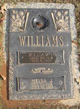 WILLIAMS, WILLIAM E. - Saline County, Arkansas | WILLIAM E. WILLIAMS - Arkansas Gravestone Photos