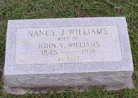 WILLIAMS, NANCY JANE - Saline County, Arkansas | NANCY JANE WILLIAMS - Arkansas Gravestone Photos