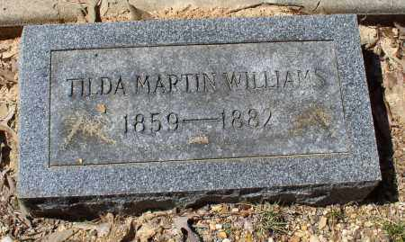 MARTIN WILLIAMS, TILDA - Saline County, Arkansas | TILDA MARTIN WILLIAMS - Arkansas Gravestone Photos