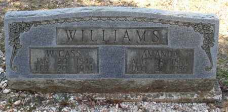 WILLIAMS, W. CASS - Saline County, Arkansas | W. CASS WILLIAMS - Arkansas Gravestone Photos