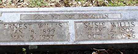 COLLINS WILLIS, SUSIE - Saline County, Arkansas | SUSIE COLLINS WILLIS - Arkansas Gravestone Photos