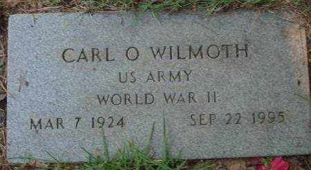 WILMOTH (VETERAN WWII), CARL O - Saline County, Arkansas | CARL O WILMOTH (VETERAN WWII) - Arkansas Gravestone Photos