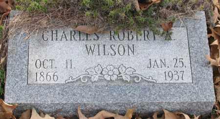 WILSON, CHARLES ROBERT ALEXANDER - Saline County, Arkansas | CHARLES ROBERT ALEXANDER WILSON - Arkansas Gravestone Photos