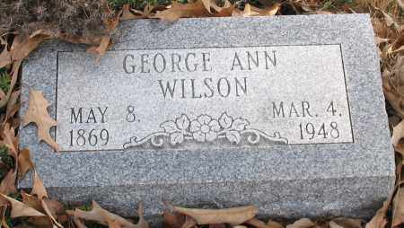 WILSON, GEORGE ANN - Saline County, Arkansas | GEORGE ANN WILSON - Arkansas Gravestone Photos