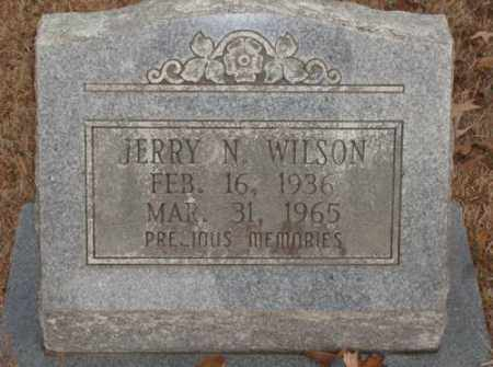 WILSON, JERRY N. - Saline County, Arkansas | JERRY N. WILSON - Arkansas Gravestone Photos