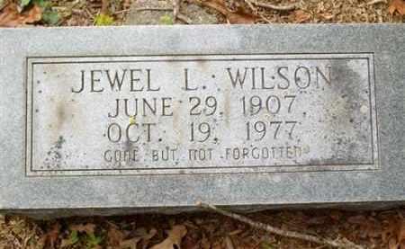 WILSON, JEWEL L - Saline County, Arkansas | JEWEL L WILSON - Arkansas Gravestone Photos