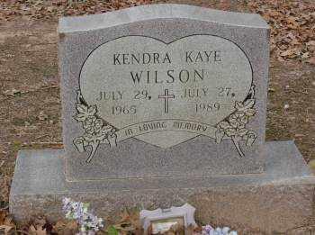 WILSON, KENDRA KAYE - Saline County, Arkansas | KENDRA KAYE WILSON - Arkansas Gravestone Photos