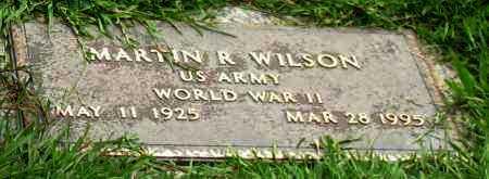 WILSON (VETERAN WWII), MARTIN RUDOLPH - Saline County, Arkansas | MARTIN RUDOLPH WILSON (VETERAN WWII) - Arkansas Gravestone Photos