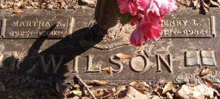 WILSON, MARTHA A. - Saline County, Arkansas | MARTHA A. WILSON - Arkansas Gravestone Photos