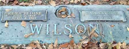 MCCRAY WILSON, RENA ELOISE - Saline County, Arkansas | RENA ELOISE MCCRAY WILSON - Arkansas Gravestone Photos
