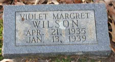 WILSON, VIOLET MARGARET - Saline County, Arkansas | VIOLET MARGARET WILSON - Arkansas Gravestone Photos