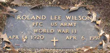 WILSON (VETERAN WWII), ROLAND LEE - Saline County, Arkansas | ROLAND LEE WILSON (VETERAN WWII) - Arkansas Gravestone Photos