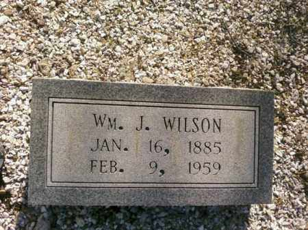 WILSON, WM. J. - Saline County, Arkansas | WM. J. WILSON - Arkansas Gravestone Photos