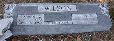 WILSON, WARREN KELLEY - Saline County, Arkansas | WARREN KELLEY WILSON - Arkansas Gravestone Photos