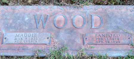 WOOD, MAGGIE - Saline County, Arkansas | MAGGIE WOOD - Arkansas Gravestone Photos