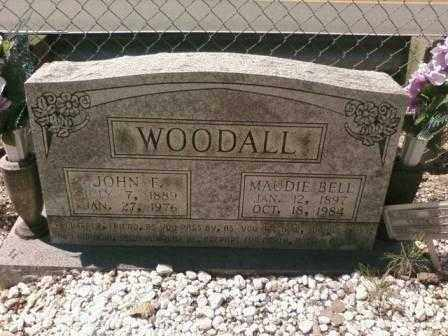 WOODALL, MAUDIE BELL - Saline County, Arkansas | MAUDIE BELL WOODALL - Arkansas Gravestone Photos