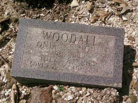 WOODALL, ONIA NONIA - Saline County, Arkansas | ONIA NONIA WOODALL - Arkansas Gravestone Photos