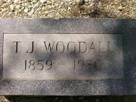 WOODALL, T.J. - Saline County, Arkansas | T.J. WOODALL - Arkansas Gravestone Photos
