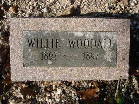 WOODALL, WILLIE - Saline County, Arkansas | WILLIE WOODALL - Arkansas Gravestone Photos