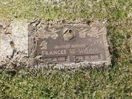 WOODS, FRANCES W. - Saline County, Arkansas | FRANCES W. WOODS - Arkansas Gravestone Photos
