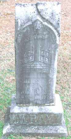 WRAY, JULIUS K. - Saline County, Arkansas | JULIUS K. WRAY - Arkansas Gravestone Photos