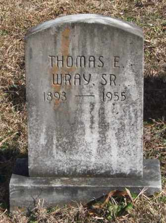 WRAY, THOMAS E. - Saline County, Arkansas | THOMAS E. WRAY - Arkansas Gravestone Photos