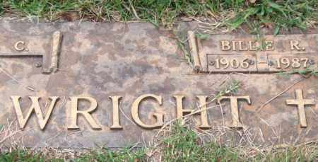 WRIGHT, BILLIE R. - Saline County, Arkansas | BILLIE R. WRIGHT - Arkansas Gravestone Photos