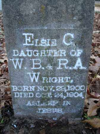 WRIGHT, ELSIE C - Saline County, Arkansas | ELSIE C WRIGHT - Arkansas Gravestone Photos