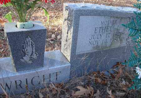WRIGHT, ETHEL L - Saline County, Arkansas | ETHEL L WRIGHT - Arkansas Gravestone Photos